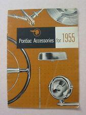 1955 Pontiac Accessories Brochure