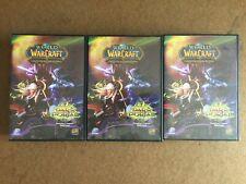 Lot of 3 - World of Warcraft Trading Card Game Through Dark Portal Starter Decks