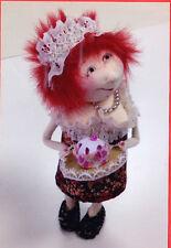 PATTERN - Cupcake Cindy - fun & fabulous cloth doll PATTERN - Jill Maas