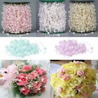 5M Fishing Line Pearls Chain Pearl Beads Chain Flower Garland Wedding Decoration