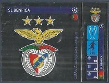 PANINI UEFA CHAMPIONS LEAGUE 2014-15- #013-SL BENFICA BADGE-SILVER FOIL