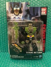 Transformers Generations Titans Return: Hardhead. Brand New/Sealed. Rare!