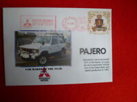 1985 MITSUBISHI  CAR MAKER OF YR RED FRANKING COVER PAJERO COVER
