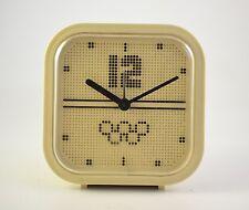 Vintage Romanian Aradora Alarm Clock Olympic Games