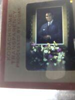 Vintage Ramon Magsaysay President Of The Philippines Kodak Slide Portrait 1966