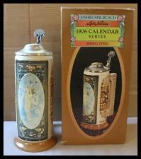 2002 Anheuser Busch Malt Nutrine Spring 1906 Calendar Series New In Box