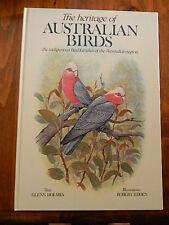 THE HERITAGE OF AUSTRALIAN BIRDS BY GLENN HOLMES