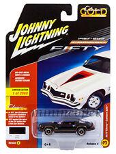 JOHNNY LIGHTNING JLCP7055 B 1977 CHEVROLET CAMARO Z28 1/64 DIECAST BLACK
