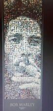 BOB MARLEY MOSAIC DOOR POSTER  ~ 157CM X 53CM BRAND NEW & SEALED