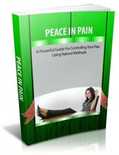 Hot ebook, Peace in pain,Controlling your pain, eBook PDF + FREE SHIPPING + MRR