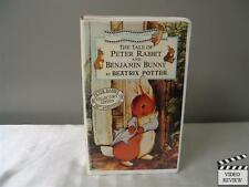 The Tale of Peter Rabbit and Benjamin Bunny (VHS, 1993) Large Case Animated