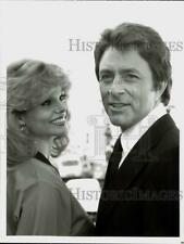 """1978 Press Photo Bill Bixby and Loni Anderson star in """"The Incredible Hulk."""""""