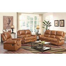 Living Room Leather Sofa Sets for sale   eBay