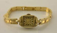 Dugena Damenuhr 17 Rubis Antichoc vergoldet Walzgold-Double /  Handaufzug