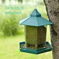 Vogelfutterspender Futterautomat zum Hängen Vogelfutterhaus Vogelfut Feeder F0X5