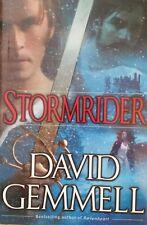 DAVID GEMMELL STORMRIDER BOOK 4 RIGANTE SAGA HARDCOVER 2002 1ST EDITION RARE OOP