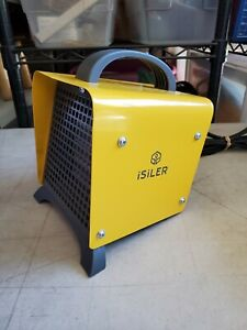 iSiLER Indoor Electric Fan Space Heater Tip-Over Overheat Protection NPE-2
