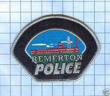 Police Patch  - Georgia - Remerton