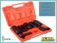 7PC Sensor Oxígeno Lambda Socket Conjunto de eliminación Tool Kit Motor 22MM/27MM/29MM 15-20