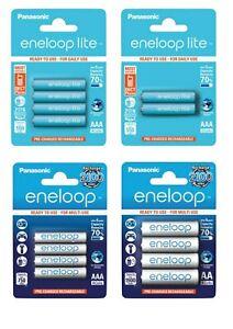 Panasonic eneloop AAA Akkus Micro 800mAh / lite 600mAh - AA Accu Mignon 2000mAh
