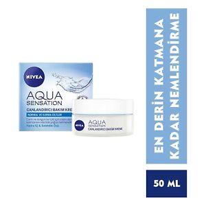 Nivea Visage Aqua Sensation Invigorating Day Cream Hydra IQ 50ml