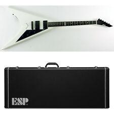 ESP E-II V-II Standard White w/ Black Pickguard WHB Guitar NEW w/ Hardshell Case