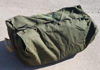 Ex British Army Heavy Duty Canvas Tent Bag Valise 160lb Tent Bag (stillQ)