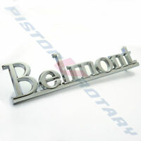 BELMONT Boot Guard Pillar Badge Brand New Chrome for HQ Fender Holden Kingswood