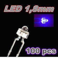 302/100# LED ultra violet  1,8mm 100pcs --- 120mcd -- UV LED