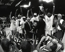 UNLV RUNNIN REBELS - 1990 NCAA Basketball Champions, 8x10 B&W Team Photo