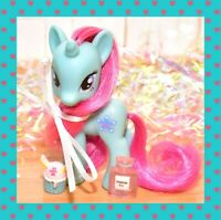 "❤️My Little Pony 3"" Brushable Playful Pony Snowcatcher Aqua Unicorn 2011 G4❤️"