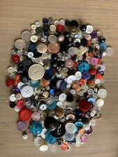 New listing Lot Vintage Buttons. Lots of Colors & Shapes. Over 9 Oz.