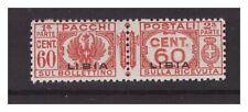 LIBIA 1927/37  -  PACCHI POSTALI - 60 CENTESIMI   NUOVO **