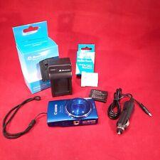 Canon PowerShot Elph 150IS Digital Camera Bundle, Camera, 2 batt, AC/DC Charger
