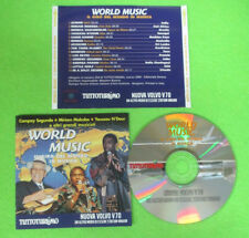 CD Compilation WORLD MUSIC Il Giro Del Mondo In Musica TUTTOTURISMO no lp(C48)