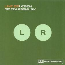 CD Schiller Live ErLeben - Die Einlassmusik DOLBY SURROUND Sleepingroom