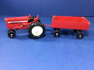 Vintage, ERTL International Harvester Die-Cast Metal Tractor & Grain Wagon,  USA