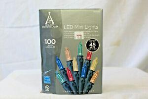 100 Count  Multi Color LED Christmas / Wedding Lights NIB.