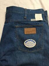 7be59962 Vintage Wrangler No Fault Jeans Mens 36x30 Bottom USA Made 70s/80s NWT