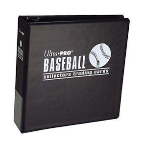 "UltraPro 3"" Black Baseball Album"