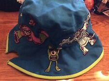 Disney Pixar Monsters Inc. youth sun bucket hat. new with tags! Mike Sully Art