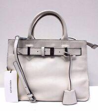 Karen Millen Medium Fold Over Leather Buckle Cross Body Shoulder Hand Grab Bag