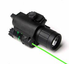 Tactical Q5 LED Flashlight Hunting Green Laser Sight Combo with Remote