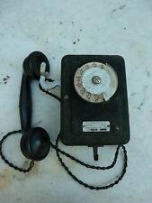 téléphone ancien mural COMPAGNIE INDUSTRIELLE DES TELEPHONES