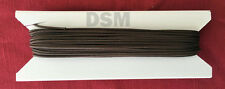 50 ft 1.8mm Dark Brown Window Blind Cord, String, Horizontal and Mini Blinds