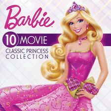 10 Barbie Movie Classic Princess Collection, new DVDs gift set, musical fantasy