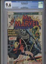 MS. MARVEL #5 NM 9.6 CGC VISION MODOK APP. CLAREMONT STORY SINNOTT ART AND COVER