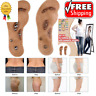 NEW Acupressure Slimming Insoles Foot Massager Magnetic Therapy Weight Loss