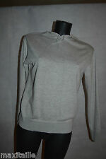 PULL SWEAT A CAPUCHE CLOSED  HAUT TAILLE M/38 SWEATER /HOODIES