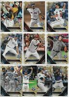 2016 Topps Update (67) Card Gold Parallel Lot Rookies All-Star Corey Seager MORE